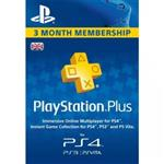 Playstation Plus 3 Month UK فیزیکی