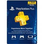 Playstation Plus 12 Month US فیزیکی