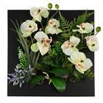 تابلو گل مصنوعی هومز طرح ارکیده مدل 35575