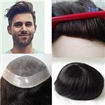 پروتز موی مردانه لومنگ مشکی طبیعی با ماندگاری بالا