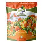 سبزیجات مخلوط منجمد 400 گرمی نوبرسبز