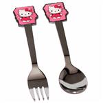 قاشق و چنگال وینز مدل Hello Kitty