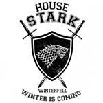 تیشرت آستین بلند رگلان طرح Game Of Thrones House Stark