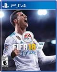 FIFA 18 - Region All - PS4