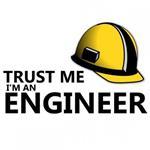 سویشرت یقه گرد ملانژ TRUST ME I M ENGINEER