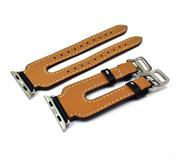 بند چرمی اپل واچ Apple Watch Leather Hermes Double Band 42mm