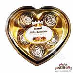 شکلات کادویی مونتی 5 تایی قلبی
