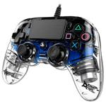 NACON Revolution PRO Controller Wierd Illuminated Compact Controller - Crystal Blue - PS4