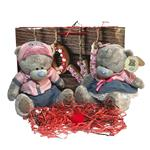 ست کادویی عروسک خرس می تو یو  پسر و دختر مدل ولنتاین