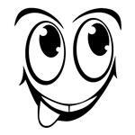 استکیر یخچال طرح لبخند 3