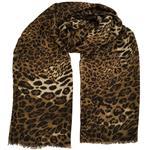 شال نخی روشا مدل Leopard کد 01
