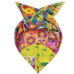 روسری ابریشم روشا مدل Happy Spring کد 02
