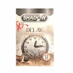 کاندوم تاخیری شادو مدل Delay بسته 12 عددی