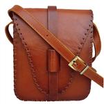 کیف دوشی چرم طبیعی زانکو چرم مدل KD-1401