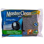 اسکاچ و اسفنج گیاهی ضد باکتری آریکس مدل Master Clean کد 12780 مجموعه 2 عددی
