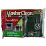 اسکاچ و اسفنج گیاهی ضد باکتری آریکس مدل Master Clean کد 12782 مجموعه 2 عددی
