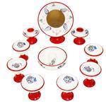 هفت سین سفالی آتی انرژی مدل رز مجموعه 11 عددی