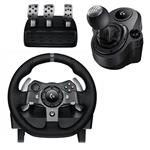 Logitech G920 Driving Force Racing Wheel With Driving Force Shifter Bundle