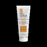 کرم ضد آفتاب و مرطوب کننده SPF60 پرودرما مناسب پوست های معمولی و خشک 40 میلی لیتر