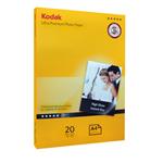 Kodak glossy paper A4 size,  280 g, 20Sh کاغذ های گلاسه کداک سایز A4 وزن 280 گرم 20 برگ یک طرفه