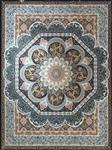 فرش آسایش ۱۲۰۰ شانه گل برجسته کد ۱۰۰۵ پرکلاغی
