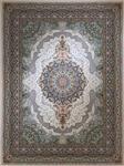 فرش آسایش ۱۲۰۰ شانه گل برجسته کد ۱۰۱۰ کرم
