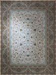 فرش آسایش ۱۲۰۰ شانه گل برجسته کد ۱۰۱۵ کرم