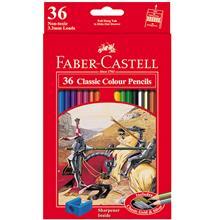 مداد رنگي 36 رنگ Faber-Castell مدل کلاسيک کد 115856