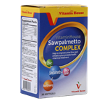 Vitamin House Saw palmetto Complex 30 Soft Gels