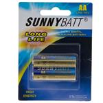 Sunny Batt Ultra Digital Alkaline AA Battery Pack of 2