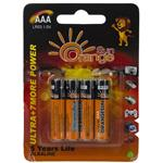 Orangsun Alkaline Ultra 7 More AAA Battery Pack of 4