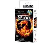 کاندوم دیزارو مدل DOTTED RIBBED FIERY  بسته 12 عددی