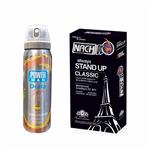 کاندوم ناچ مدل stand up بسته 12 عددی به همراه اسپری دلتا مدل nescafe