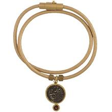 دستبند طلا کیا گالری مدل سکه و نقره