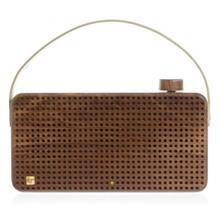 KitSound Wooden Bluetooth Speaker