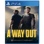 بازی A Way Out  مخصوص PS4