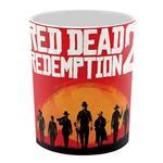 ماگ چاپ لین مدل Red Dead کد C101