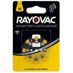 باتری سمعک ریواک ضد نویز شماره ۱۰ RAYOVAC