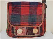 کیف بزرگ جاجیم دو دگمه