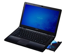 Sony VAIO CW2VFX  Core i5-3 GB-320 GB-256MB
