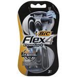 خود تراش بیک مدل Flex 4 Comfort بسته 3 عددی
