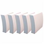 کاغذ یادداشت ساده  رایدین  سایز 10در10  - بسته 1400 برگی