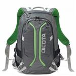 D31221 Backpack ACTIVE 14 15.6 Grey Lime