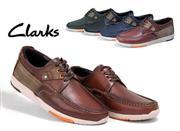 کفش مردانه چرم طبیعی clarks