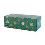 دستمال کاغذی 150 برگ 2 لایه سری فرش گل شاه عباسی سافتلن