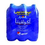 آب معدنی 1/5 لیتری باکس 6 تایی آکوافینا