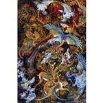 تابلو شاسی گالری هنری پیکاسو طرح مینیاتور اثر استاد فرشچیان کد 0134