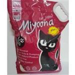 خاک گربه ی میونا با عطر جانسون -5کیلوگرم