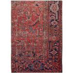 فرش قدیمی یک و نیم متری فرش هریس کد 100745