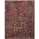 فرش قدیمی یک و نیم متری فرش هریس کد 100746